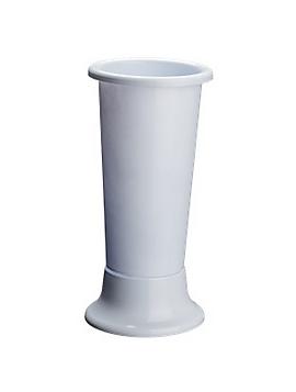 VASO PORTAFIORI IN PLASTICA  CM ø 11 X H 25